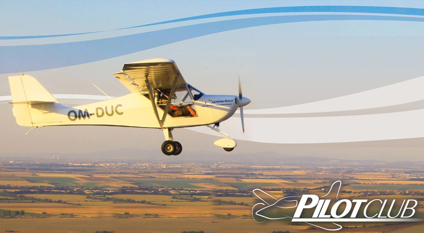 Zážitkový let športovým lietadlom vami vybranou trasou s možnosťou pilotovania