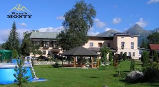 Zľava 59%: Vychutnajte si Vysoké Tatry z konského chrbta. Penzión Monty Ranch vás pozýva prežiť skvelý víkend s tým najkrajším výhľadom na hory, výbornou polpenziou a jazou na koni.