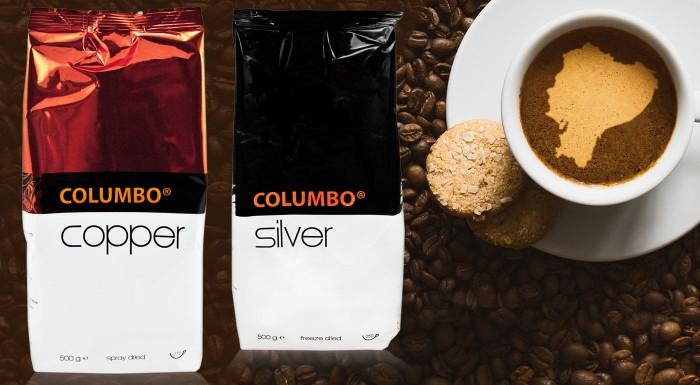 Lahodná prémiová káva Columbo®
