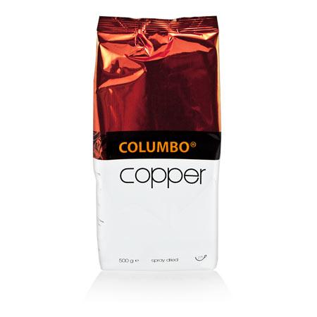 Prémiová instantná káva Columbo Copper 500 g