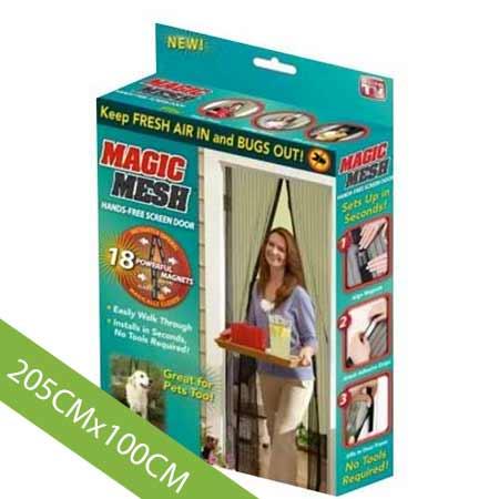 Magnetická sieťka proti hmyzu na štandardný rozmer dverí - 205 x 100 cm