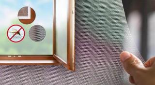 Zľava 58%: Nalepovacia sieťka proti hmyzu na každé okno. Zabezpečte svoju domácnosť pred otravnými komármi a dotieravými muchami účinným a cenovo dostupným spôsobom.
