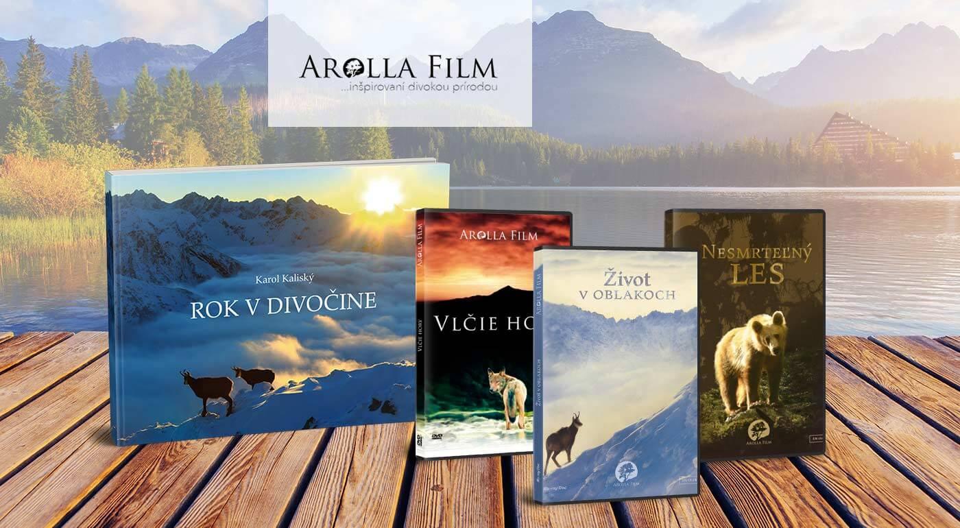 Nádherné filmy a knihy o nedotknutej slovenskej prírode - vychutnajte si zábery tých najskrytejších klenotov našich národných parkov v HD kvalite!
