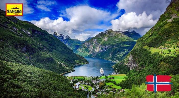 Fotka zľavy: Letecký zájazd do Nórska
