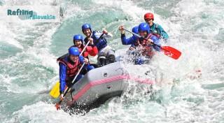 Zľava 57%: Dve hodiny adrenalínu na nezabudnuteľnom raftingu na umelom kanáli víťazov v Liptovskom Mikuláši alebo pokojný splav Váhu.