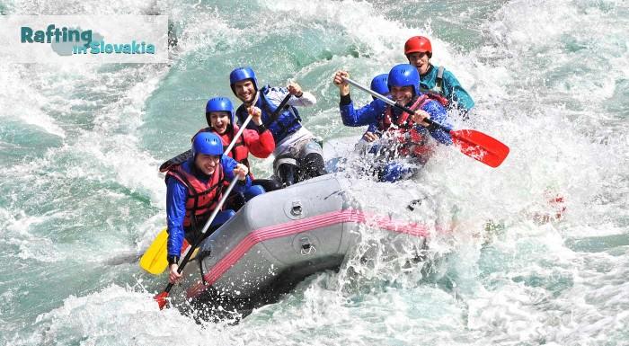 Fotka zľavy: Dve hodiny adrenalínu na nezabudnuteľnom raftingu na umelom kanáli víťazov v Liptovskom Mikuláši alebo pokojný splav Váhu.