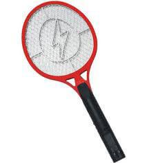 Elektrická mucholapka červená - rozmer 17 x 44 cm