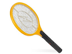 Elektrická mucholapka žltá - rozmer 17 x 44 cm