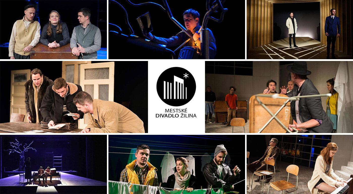 Vstupenky 1+1 zadarmo do Mestského divadla Žilina na predstavenia podľa vášho výberu