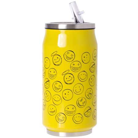 ODELO termohrnček design žltý 0,35 l