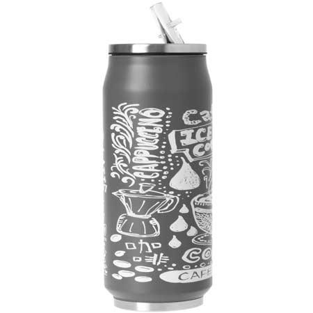 ODELO termohrnček design čierny 0,5 l