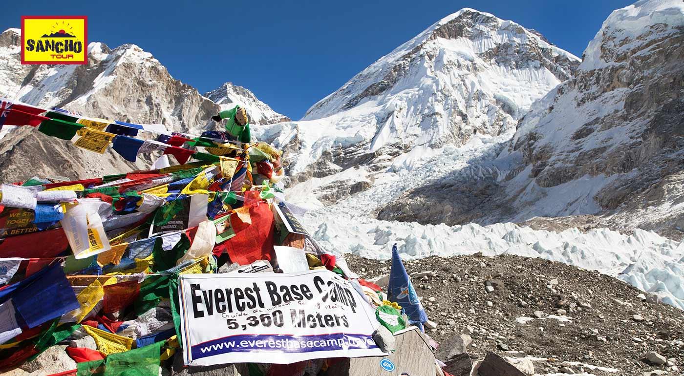 Nepál: Turisticko-expedičný zájazd do základného tábora pod najvyššou horou sveta Mount Everest