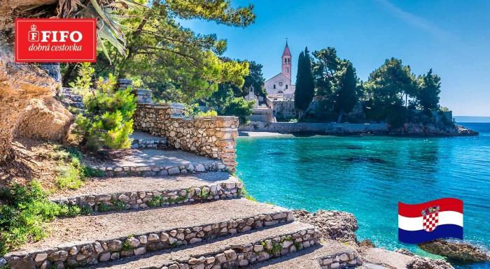 Fotka zľavy: Chorvátsko: Užite si leto v Hotelovom komplexe Velaris v letovisku Supetar na ostrove Brač. Kompletná cena vrátane vrátane polpenzie, miestnych poplatkov, služieb delegáta a ubytovania.
