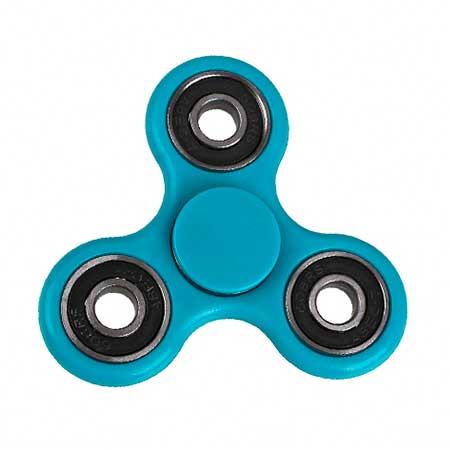Fidget Spinner plastový - farba modrá