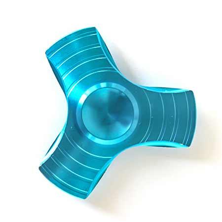 Fidget Spinner kovový B - farba modrá