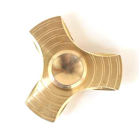 Fidget Spinner kovový B - farba zlatá