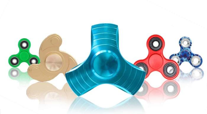 Fidget spinner - revolučná antistresová hračka