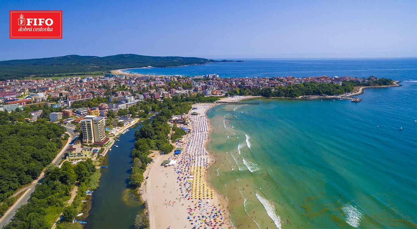 Bulharsko: Slnečná dovolenka v Hoteli Nadja*** v letovisku Primorsko na 8 dní s raňajkami
