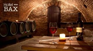 Zľava 54%: Zabudnite na povinnosti a užite si trocha romantiky na čarovnej južnej Morave v Hoteli Bax***. V cene aj polpenzia, fľaša vína, welcome drink a všetky pamiatky na dosah!