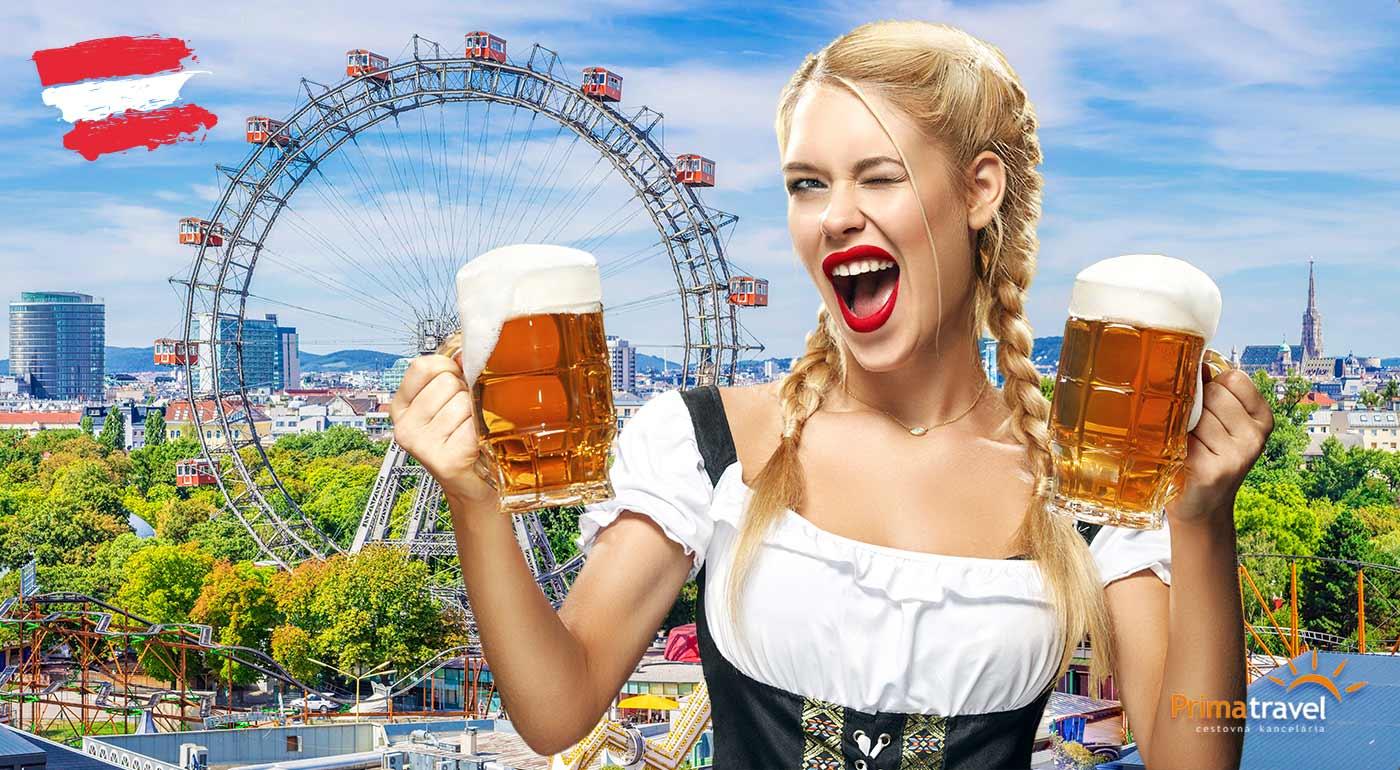 Jednodňový zájazd na festival piva s prehliadkou centra Viedne