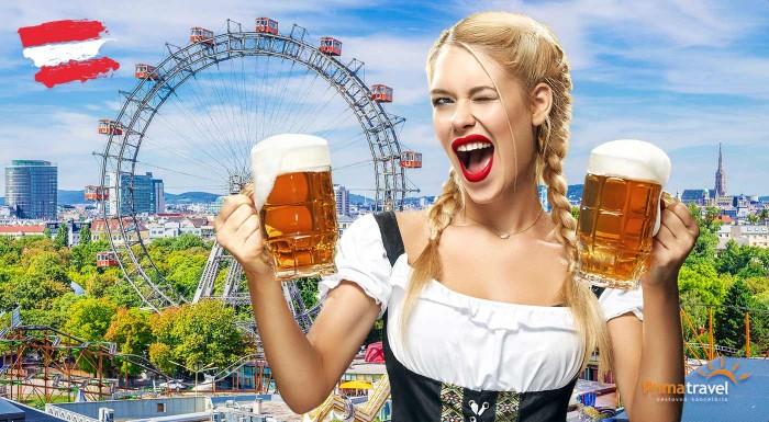 Fotka zľavy: Deň nabitý históriou, ale aj ochutnávkami piva a delikátnych jedál zažijete počas 1-dňového zájazdu do Viedne na vychýrený festival piva len za 16,90 €.