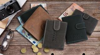 Zľava 64%: Kvalitná pánska peňaženka z pravej kože bude svedčať vašim financiám. Vďaka elegantnému prevedeniu a praktickým rozmerom sa stane vašou vernou spoločníčkou.