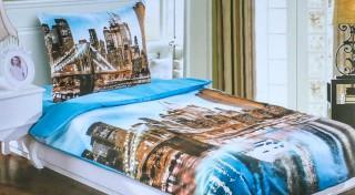 Zľava 57%: Snívajte v nádherných obliečkach s 3D vzormi a dajte vašej spálni nový šmrnc. Zaobstarajte si moderné posteľné prádlo, ktoré pristane každej posteli.