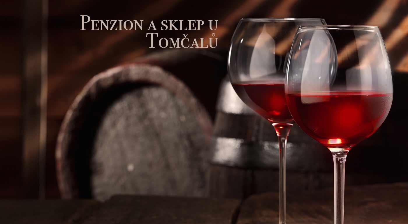 Vinársky pobyt v Penzióne a sklepe u Tomčalů s výbornou polpenziou a degustáciou vína