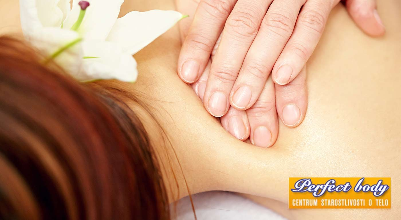 Liečebná reflexno-akupresúrna masáž krížov a kĺbov v salóne Perfect Body