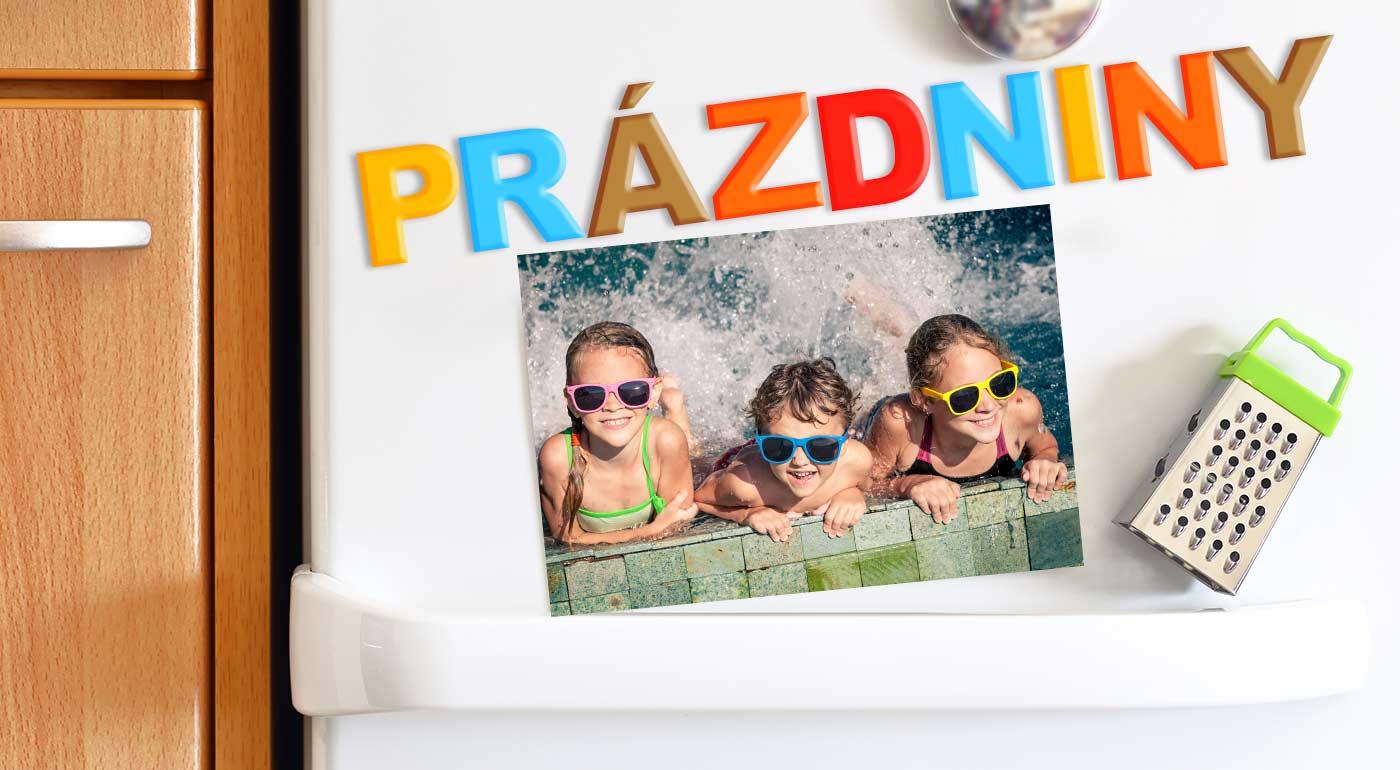 Fotka zľavy: Magnetky, pozdravy či pohľadnice s vlastnou fotografiou v rôznych rozmeroch