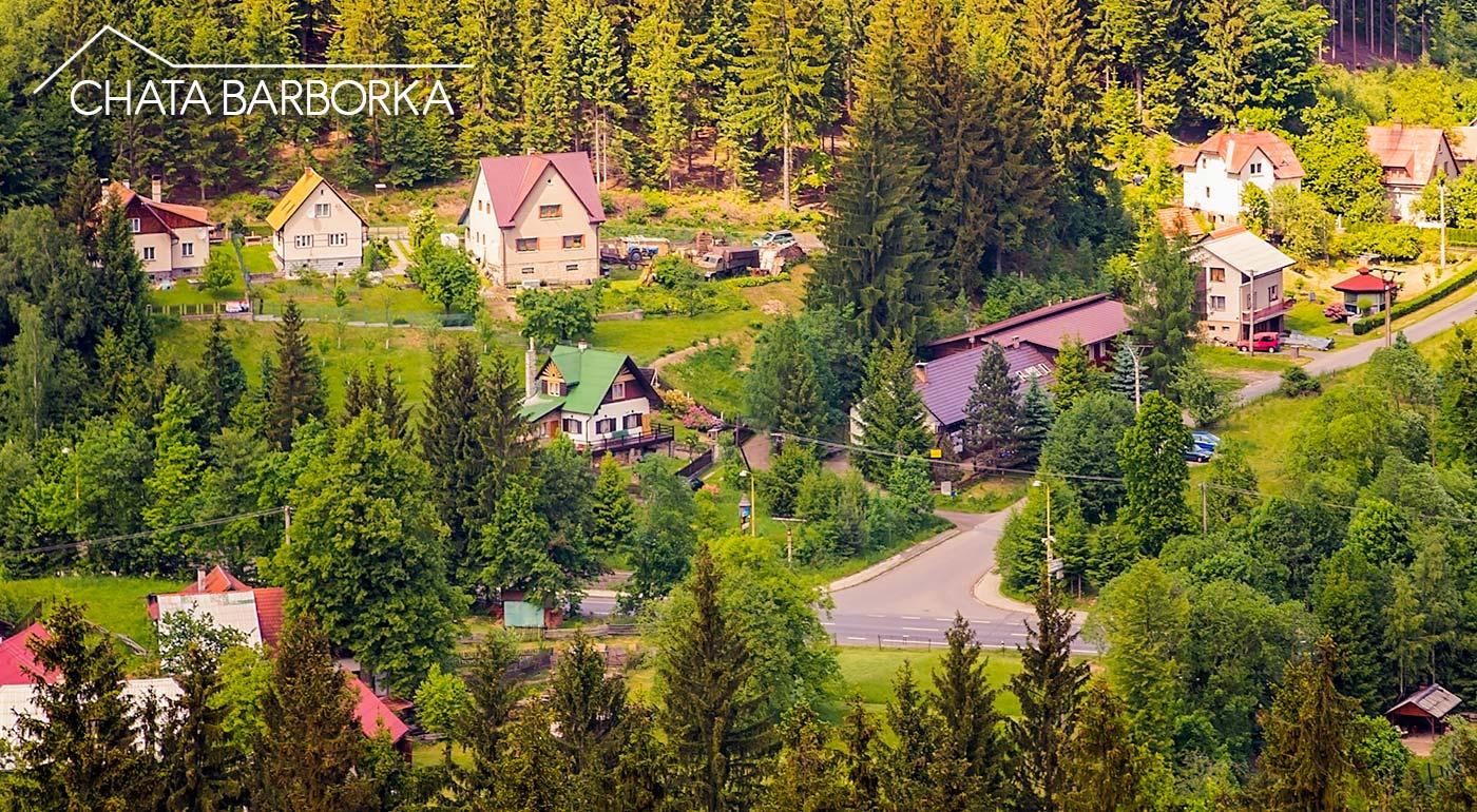 Chata Barborka v atraktívnom prostredí moravsko-sliezskych Beskýd s polpenziou