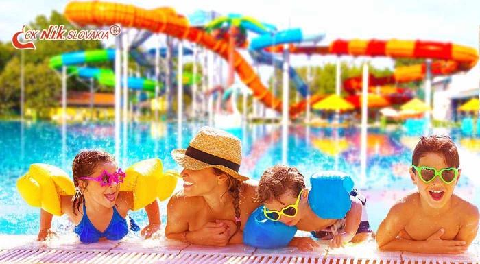 Fotka zľavy: Vychutnajte si slnečné lúče v najteplejšej oblasti Slovenska! Relax v komplexe termálneho kúpaliska Vadaš v Štúrove pre 3 - 6 osôb aj s celodennými vstupmi do bazénov!