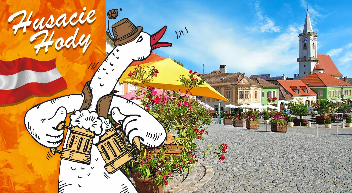Rakúsko: 1-dňový zájazd na husacie hody a vínny festival v meste Rust