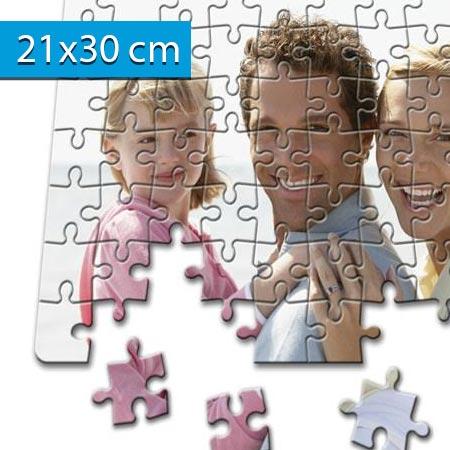 Puzzle s vlastnou fotografiou formátu A4 - rozmer: 21 x 30 cm - 120 dielikov