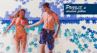 Zľava 35%: Nudným darčekom odzvonilo - potešte svojich blízkych originálnymi puzzle s vlastnou fotografiou.