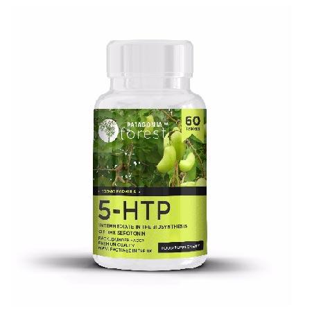 1x prírodný doplnok 5-HTP 100 mg - balenie 60 tabliet