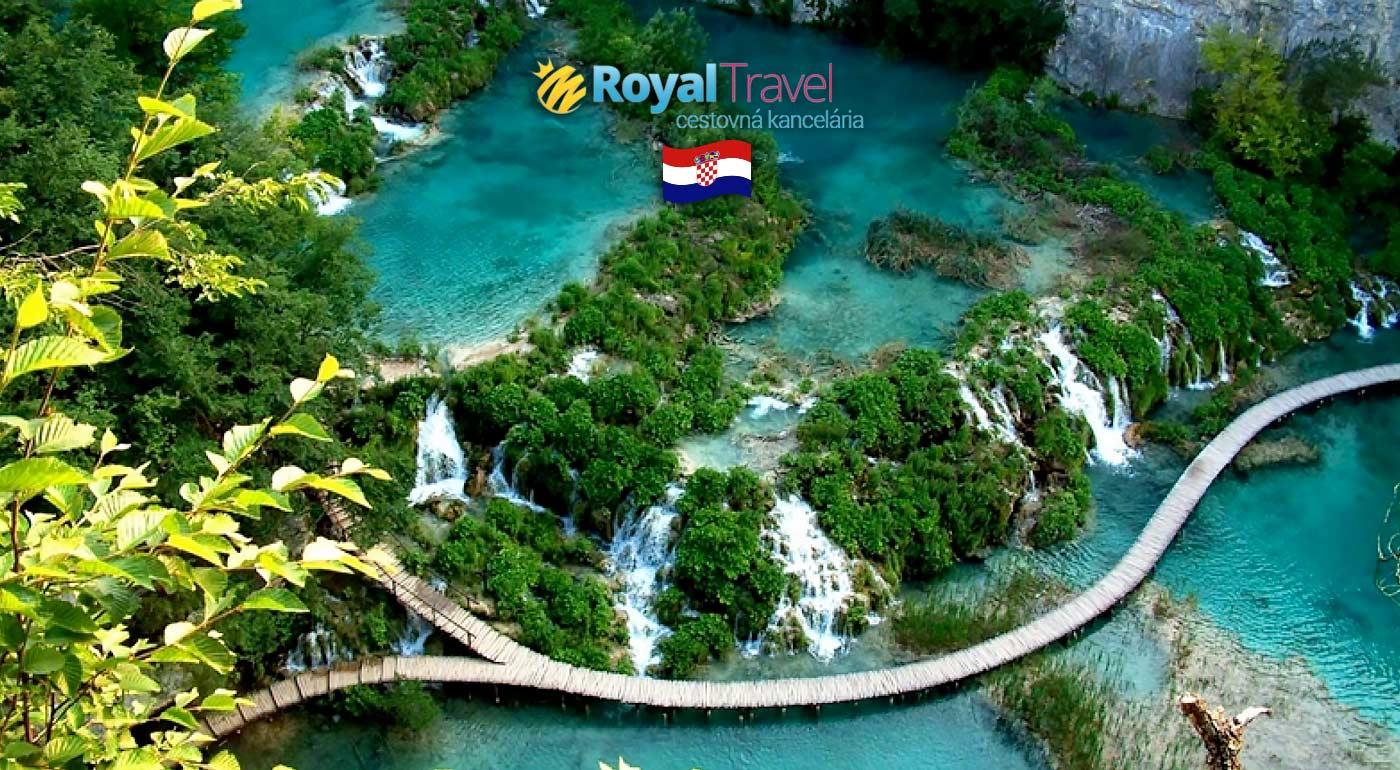 Chorvátsko: Letné dobrodružtvo pri mori s návštevou Plitvických jazier, Vodíc a Záhrebu
