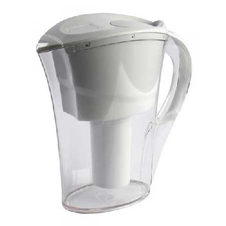 Alkalizujúci filtračný džbán na vodu s jedným filtrom