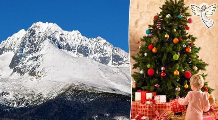 Zasnežené Vianoce v Tatrách. Doprajme prežitie krásnych sviatkov aj tým, ktorí si ich sami dopriať nemôžu.