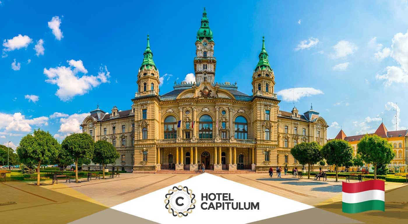 Fotka zľavy: Maďarsko: Wellness rozmaznávanie pre dvoch na 3 dni v Hoteli Capitulum**** v centre Győru