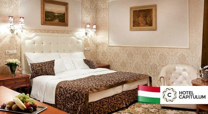Romantika pre dvojicu v Hoteli Capitulum**** v srdci historického mesta Győr na 3 dni! Užite si raňajky, wellness a prechádzky po historickom centre. Možnosť využitia aj cez víkend.