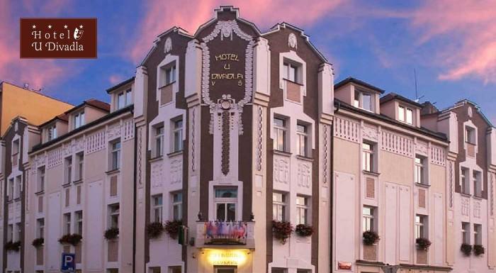 Fotka zľavy: Navštívte pražské krčmičky, počkajte si na predstavenie Orloja alebo sa prejdite nádhernými parkmi a sadmi. Pobyt v Hoteli u Divadla je správna voľba! V Prahe je vždy čo zažiť!