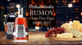Zľava 33%: Ak ste fanúšikom špičkového alkoholu alebo len radi skúšate nové a nepoznané, vyberte sa na ochutnávku 8 prémiových rumov do baru Don Papa.
