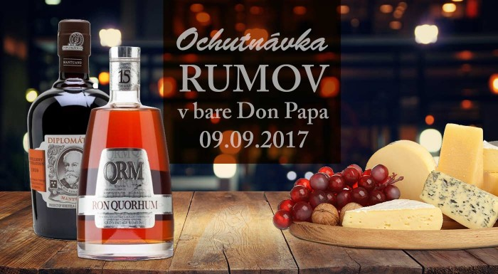 Fotka zľavy: Ochutnávka prémiových rumov v Don Papa