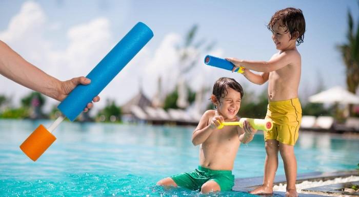Fotka zľavy: Vyskúšajte ako vyzerá letná zábava na plný plyn. Vyzbrojte vaše deti muníciou v podobe vodných diel.