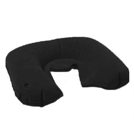 Travel Pillow Cestovný nafukovací vankúš - farba čierna