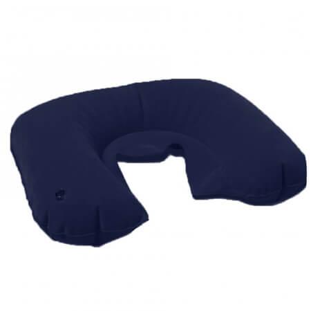 Travel Pillow Cestovný nafukovací vankúš - farba tmavomodrá