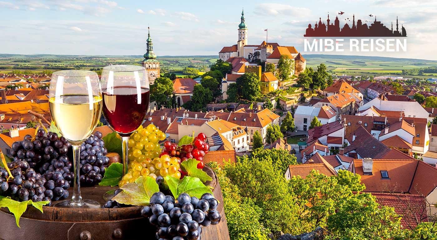 Obdivujte zámky Milotice či Lednice a doprajte si dúšok poctivého moravského vína na Pálavskom vinobraní