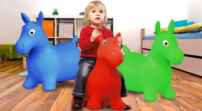 Hopsadlo pre deti v tvare koníka