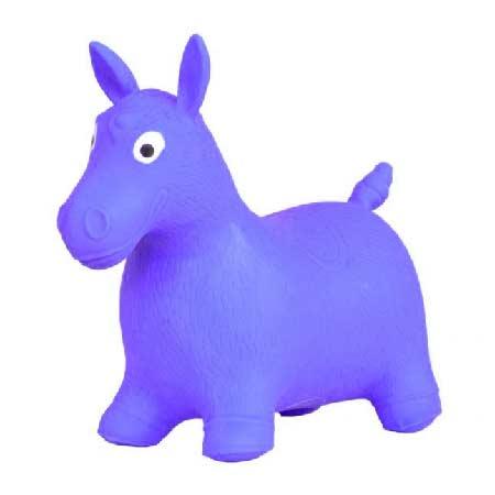 Hopsadlo koník Ben - farba fialová